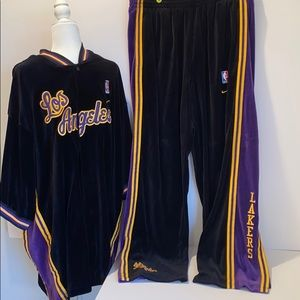 LA Laker Authentic NBA NIKE Warm Up Suit
